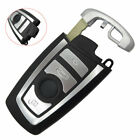 4Buttons Replacement Car Smart Remote Key Case Shell for BMW 5 7 Series Striking