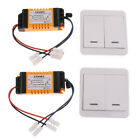 Wireless Remote Control 2-CH Relay Switch 2x Transmitter & 2x Receiver