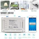 Sonoff 4CH Pro R2 4 Gang Inching Self-Locking Interlock WiFi RF Smart Switch