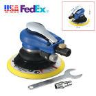 6'' Disc Air Random Orbital Sander Pneumatic Disc Polisher For Car Body Sanding