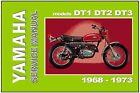 YAMAHA Workshop Manual DT1 DT1F DT2 DT3 DT250 1971 1972 & 1973 Service & Repair