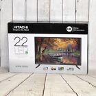 "HITACHI 22C31 22"" LED ALPHA SERIES TV 1080p HDTV TELEVISION - FREE SHIPPING"