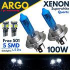 H4 501 Xenon White 100w Bulbs Headlight Headlamp 472 Hid 12v T10 Led Side light