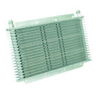 """Transmission Oil Cooler, 11"""" X 6"""" X 3/4"""", 17-row, -6AN."""