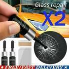 2 Set Automotive Glass Nano Repair Fluid Car Window Glass Crack Chip Repair Kits