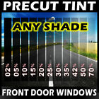 PreCut Film Front Door Windows Any Tint Shade VLT for MITSUBISHI Glass