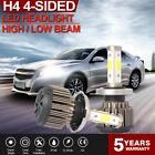 H4 LED Headlight Bulbs Hi Low Beam For 1996-02 Toyota 4Runner 97-2014 Honda CR-V
