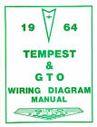 1964 64  GTO/TEMPEST WIRING DIAGRAM  MANUAL