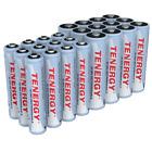 24pcs Tenergy NiMH Rechargeable Batteries (12AA/12 AAA)