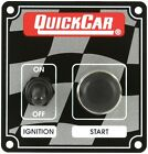 QuickCar 50-102 Ignition Control Switch Panel Starter Button IMCA Sport Mod