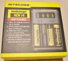NEW NITECORE i4 Intellicharger Charger For 18650 1850014500 18350 16340 18700 AA
