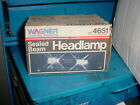 New Wagner 12volt SEALED BEAM 4651 Headlamp  CARS w/ 4 RECTANGULAR HEADLIGHTS