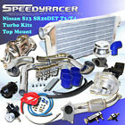 Fit 89-94 Nissan S13 SR20DET Turbo Kits 240sx T3/T4 Stainless Steel Top Manifold