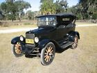 Willys : Touring Car Black 1921 Willys overland Touring