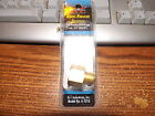 "Brass Pipe 1/4"" Male - 3/8"" NPT Female Adapter Reducer"