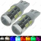 2X T10 193 194 259 280 10 SMD 5630 LED Dashboard Light Dome Mini Bulb Auto ZA061