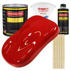 Pro Street Red Gallon Kit Single Stage ACRYLIC ENAMEL Car Auto Body Paint Kit