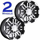 TWO Aluminum Trailer RIM WHEEL Vision Warrior 16x6 8/6.5 375VT6681GBMF0