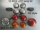 RDX LED 'XS' Style 10 Lamp/lights Side Repeaters Defender 1987 to 1994 200 Tdi D