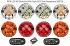 RDX LED XS Style 8 Lamp/lights & Side Repeaters Defender 1994 to 1998 300 Tdi D