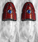 1954 Chevy Blue Dot Taillight Backup Lenses Bel Air Delray Taillights Lens