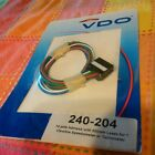 NEW VDO 14 Pole Harness for Viewline Tachometer Speedometer 240-204