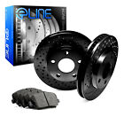 [REAR] Black Edition Cross-Drilled Brake Rotors & Semi-Met Brake Pad RBX.3302702