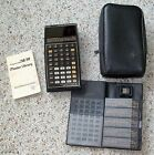 Texas Instruments Ti-58  Programmable Calculator Master Library Module 1