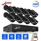 ANRAN HD 8CH 720P AHD Home Security System CCTV Camera 1080N DVR Recorder IR CUT