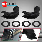 """For 3/4"""" D-ring Shackles Black Isolator Washers 6PCS Kit Set Protection Cover"""