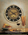 """Farmhouse French Style 27"""" Wall Clock Auguste Verdier"""