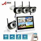 4CH NVR Surveillance 720P Day Night Wireless Outdoor CCTV Security Camera System