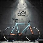 700c Daiquiri Limited Edit GULF Fixed Gear Bike Fixie Single Speed Bicycle Track