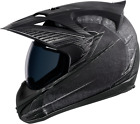 Icon Variant Battlescar Motorcycle Full Face Helmet Charcoal Grey Medium MD