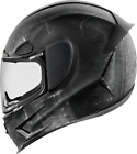 Icon Airframe Pro Construct Motorcycle Full Face Helmet Black Medium MD