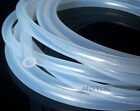 7*11 Flexible Soft Silicone Tube Pipe ID_7mm OD_11mm Food Grade Hose CLEAR