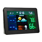 2 Sensors Wireless Color Weather Station Forecast Thermometer Hygrometer US