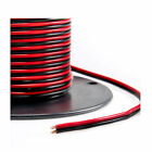 Red/Black Bonded Zip Cord Easy ID Low Voltage Cable (Gauge: 14, Length: 50 feet)