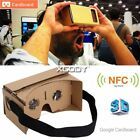 Google Cardboard Virtual Reality VR Mobile Phone 3D Viewing Glasses for Samsung