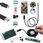 7MM Android PC HD Endoscope Waterproof 10M Snake Borescope USB Inspection Camera