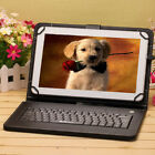 """iRULU 10.1"""" Google Android 6.0 White Tablet PC A33 Quad Core 8GB w/Black Keyboar"""