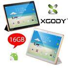 XGODY 9.6'' Quad Core Android 4.4 Tablet PC 3G 2Sim Phablet 1G+16GB GPS WiFi IPS