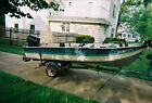 1983 Smokercraft 14' Aluminum Boat & Trailer - Michigan