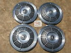 "1965 PLYMOUTH FURY 14"" WHEEL COVERS, HUBCAPS, SET OF 4 ~NO RESERVE~ ~LOOK~"