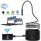 8mm WiFi Endoscope Borescope Inspection Camera Waterproof For Android iPhone