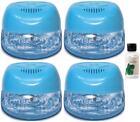 4 Blue Air Purifiers w/ Rainbow Rainmate Eucalyptus Fragrance / Asthma Allergies