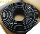 125ft Siamese RG59/U 95% 2-Conductor/18AWG Copper CCTV Bulk Cable, Black