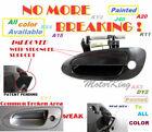 MotorKing Door Handle For NISSAN ALTIMA Outside Front Left Smooth Black DN10001