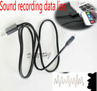 1m Sound Recording cellPhone USB2.0 Charger Data Line Cable For  apple/iPhone
