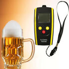 LCD Breath Alcohol Tester Digital Alcohol Detector Breathalyzer Alcotester